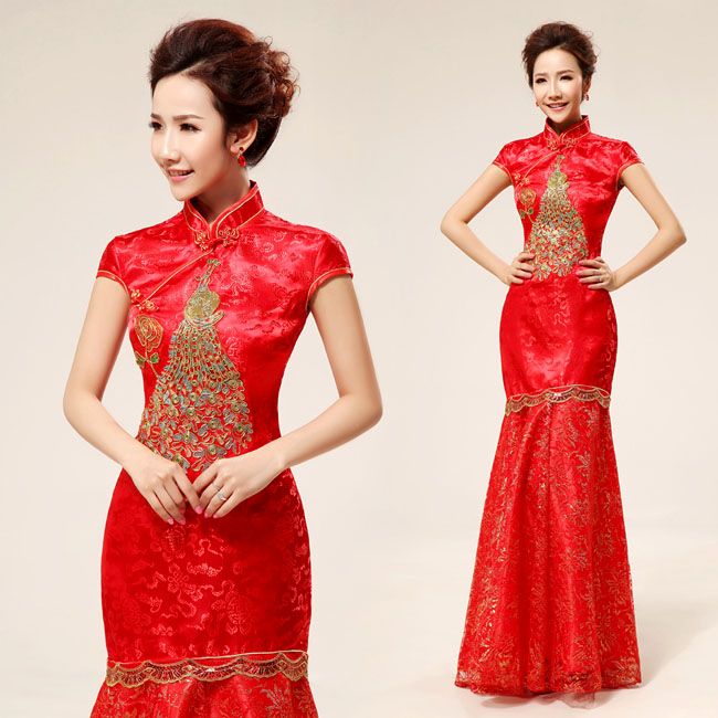 Asian-inspired-mandarin-red-Chinese-dress  (27)