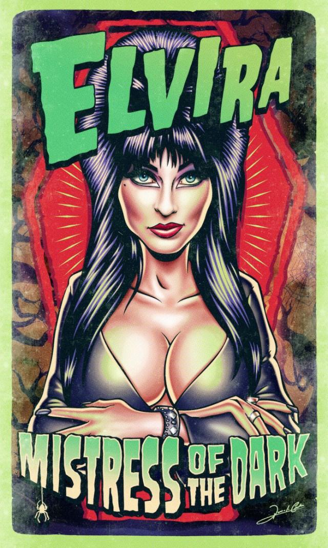 elvira_pinup_Pin_Up_Movie_Posters