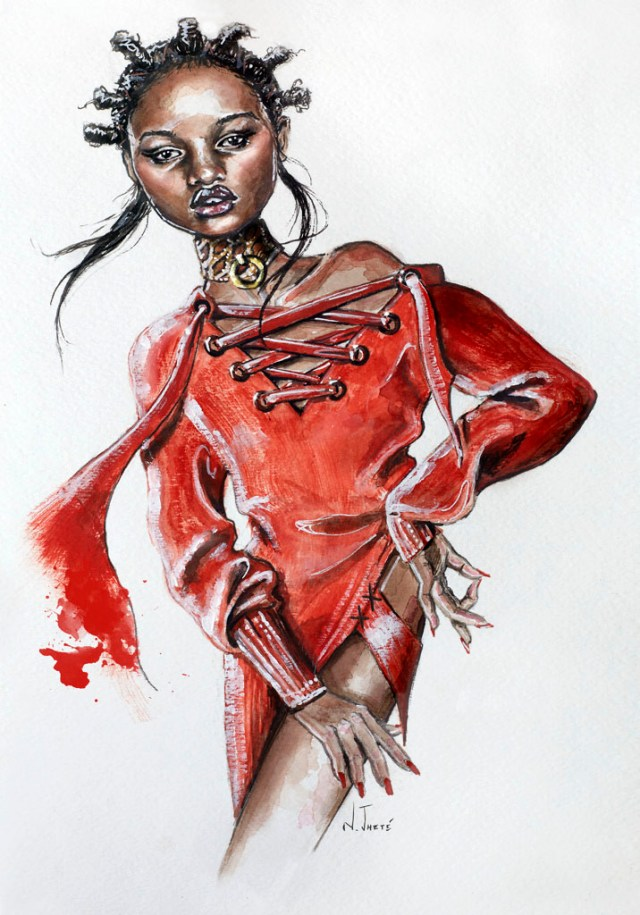 Fashion-Illustrations-by -Natalia-Jheté.