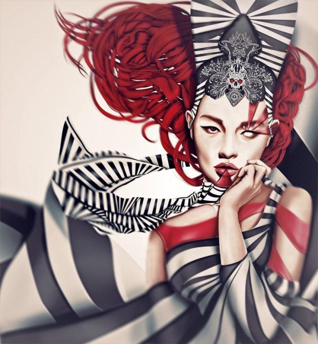 digital_paintings_of_woman_by_Giulio_Rossi