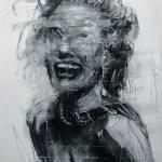Marilyn Monroe Illustration by Kim Byungkwan