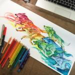 Pencil_Marker_Animal_illustrations_By_Katy_Lipscomb (11)