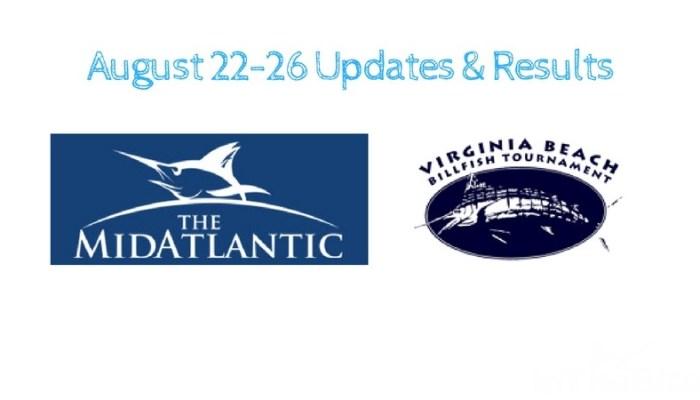 Aug 22-27 Tournament Updates MA500 & Va Beach