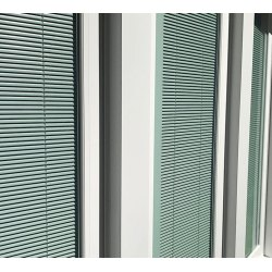 Small Crop Of Windows With Built In Blinds