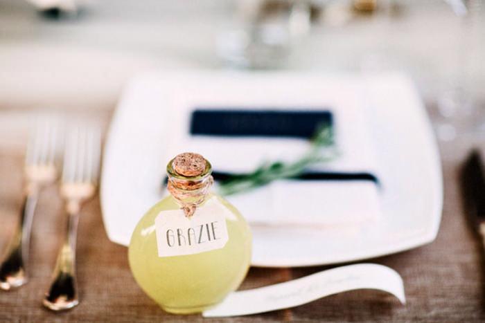 Một chút rượu chanh cho đám cưới thêm nồng ấm.