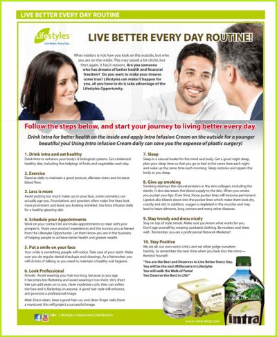 23 herbal Intra Archivy - Intra Lifestyles Herbal Drink