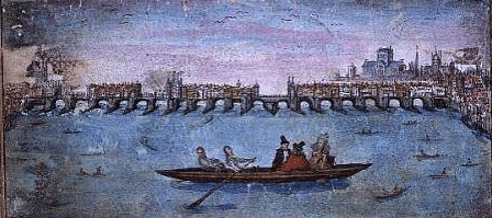 River Thames in 1614