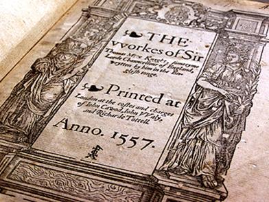 Works of Sir Thomas More