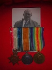 In memory of all who served and RAMC Private E J Moore who survived the 1st World War
