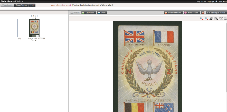 Europeana Partner site download as out of copyright choose jpeg file format if in doubt