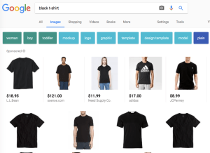 Black t-shirt Google Search Results