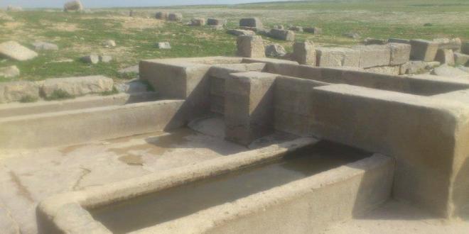 جانب من آثار موقع ثوساليت