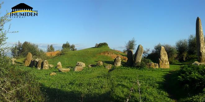 الدوائر الحجرية -موقع مزورة شمال المغرب