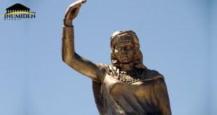 ترميم تمثال الملكة ذايا ديهيا البوابة الثقافية الشاوية إينوميدن.كوم