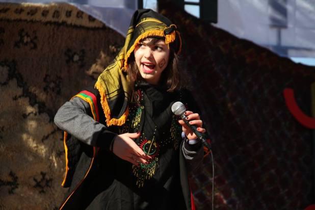 من العرض المسرحي -صورة عادل بدرالدين