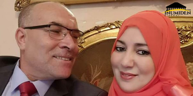 نعيمة صالحي و زوجها