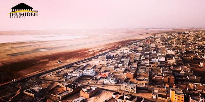 منظر عام على مدينة نواذيبو - موريتانيا