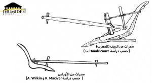 نماذج عن المحراث البربري , المصدر : الموسوعة الأمازيغية