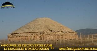 Nouvelles découvertes dans le mausolée d'Imedghassen