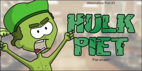 Alternative Zwarte Piet Hulk