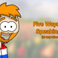 How To Fake Speaking Dutch