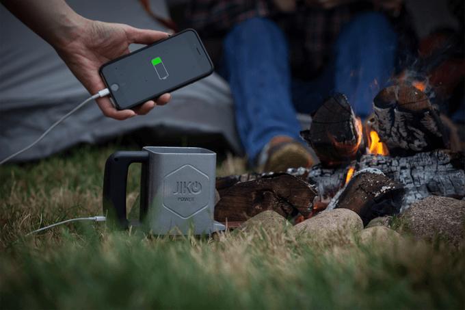 Cargar el móvil con fuego gracias a JikoPower