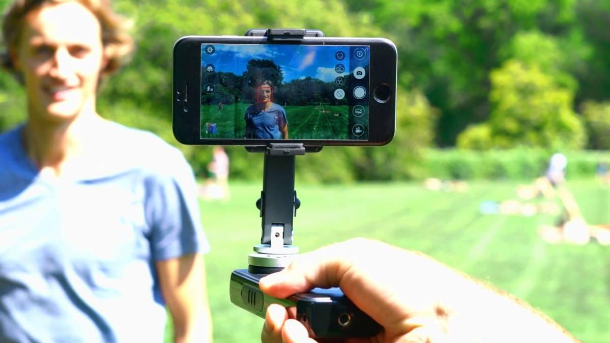 Steady cam para móviles: SMOVE