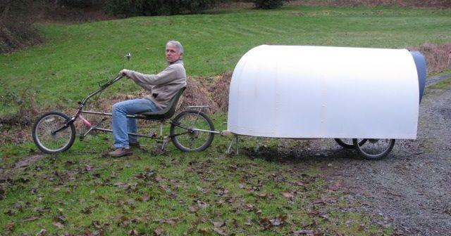 Caravana para bicicletas: Constrúyela tú mismo (planos descargables)