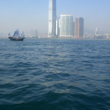 Offshore Investment at HK Victoria Harbour view China Minsheng Banking Corp ICC