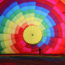Cappadocia Balloon Inflating Wikimedia Commons - Helicopter money