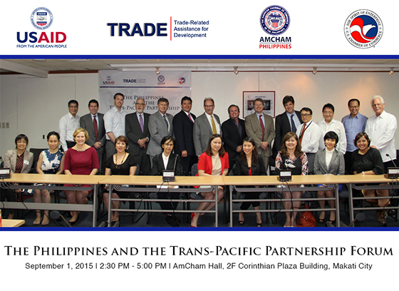 The Philippines and the Trans-Pacific Partnership Forum