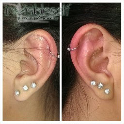 Cartilage Piercings Various INVSELF37
