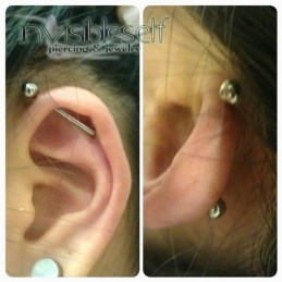 Industrial Piercings INVSELF16