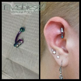 Rook Piercings INVSELF6