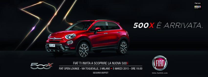 Presentazione nuova Fiat 500X