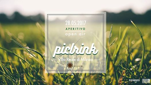 28.05.17 Villa Reale Monza / PicDrink / Open Air Aperitif & DJ Set