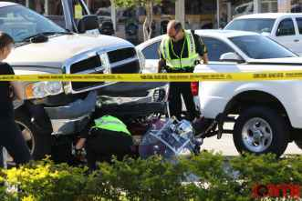 Investigators on-scene of crash on Park Blvd in Seminole