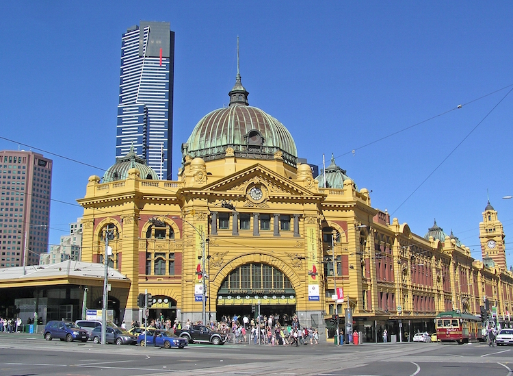 Melbourne Flinders St Station