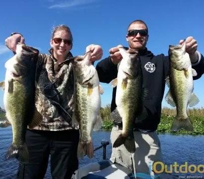 Orlando Bass Fishing Trips