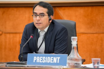 SCCR Chair, Martin Moscoso © WIPO 2014