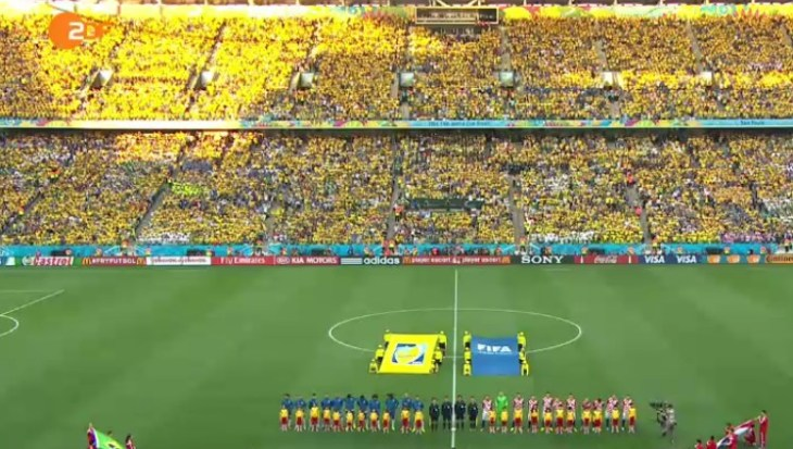 FIFA WOrld Cup on ZDF