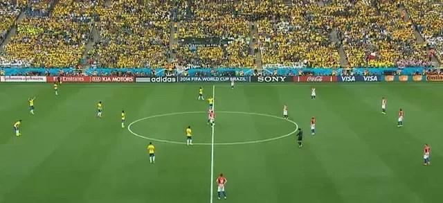 World Cup kickoff on ITV