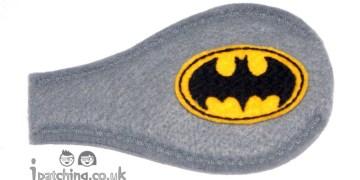 Batman On Grey Orthoptic Eye Patch