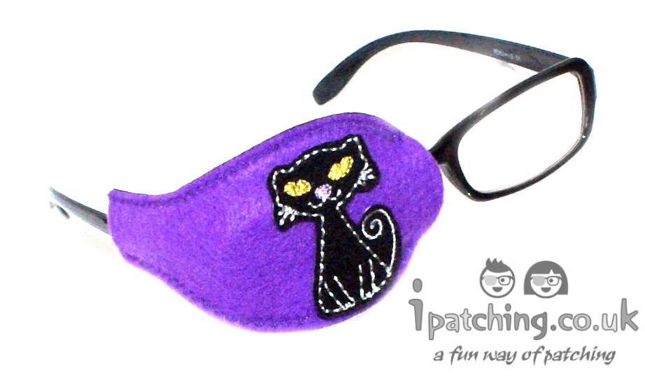 Black Cat Orthoptic Eye Pat