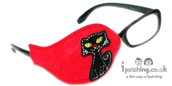 Black Cat Orthoptic Eye Pat