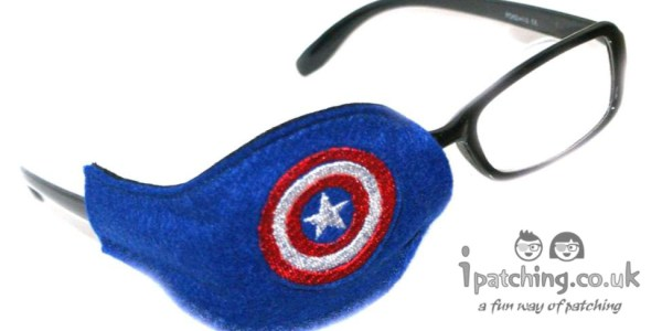 Capitan America eye patch