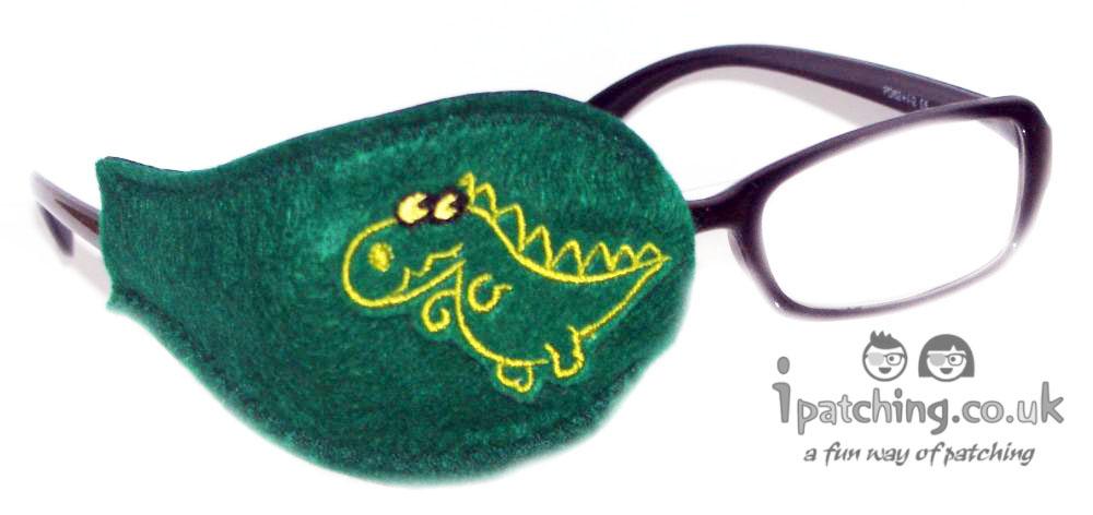 Dino Eye Patch