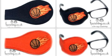 basketball eye patches