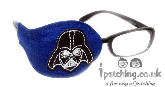Darth Vader Navy Eye Patch