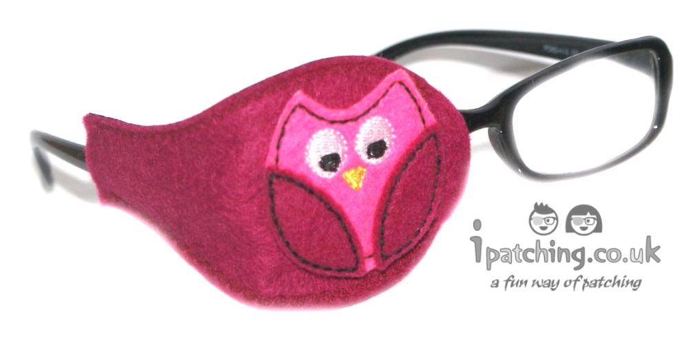 Owl Eye Patch